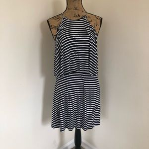 Ultra Flirt Striped Dress